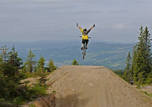 Biketraum Norwegen - Hafjell World Champs