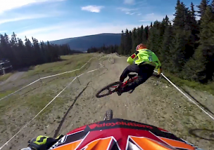 Hafjell DH WorldChamps Trackcheck