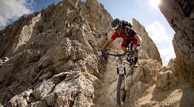 MAXimFLOW - Trails in den Dolomiten