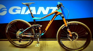 Custom Bike Giant Trance Advanced