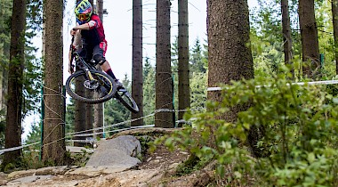 Heavy Metal: Downhillbike im Test