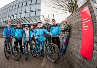Das Giant Germany Offroad Team bei SRAM