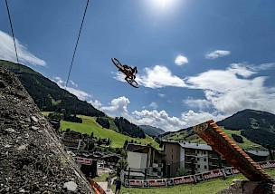 Interview: Erik Fedko beim Red Bull District Ride