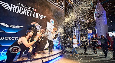 Swatch Rocket Air 3000 - Team America gewinnt Teambattle
