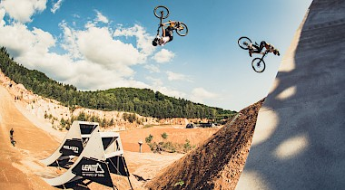 Eine Space Station und die perfekte Hip: Die GoPro Course Preview der Audi Nines MTB 2019!