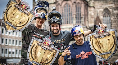 SPEKTAKULÄRER URBAN SLOPESTYLE MADE IN GERMANY – DER RED BULL DISTRICT RIDE KEHRT ZURÜCK