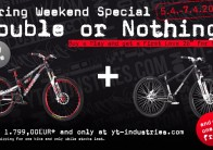 YT Industries: Double or nothing!