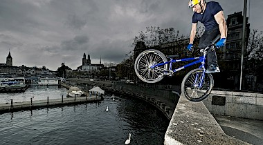 Danny MacAskill in Switzerland