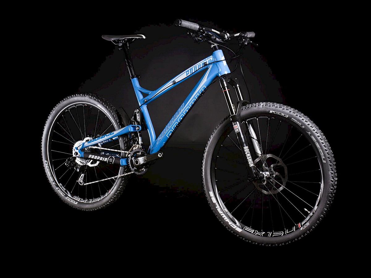 Mtb Rider Neues Allmountainbike Propain Prsentiert Das Twoface Rock Shock Sektor Rl Gold 275