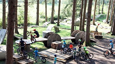 Neuer Trial Bike Park in Osttirol