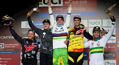 World Cup #2 - Podium in Cairns