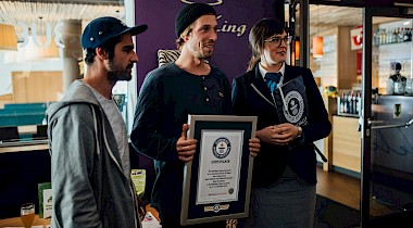 Mit der X-Klasse zum GUINNESS WORLD RECORDS™ Titel