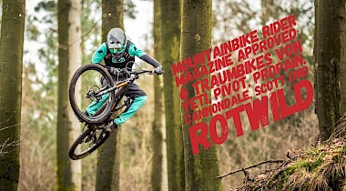 Mountainbike Rider Magazine Testtag beim Freestyle.ev in Marburg