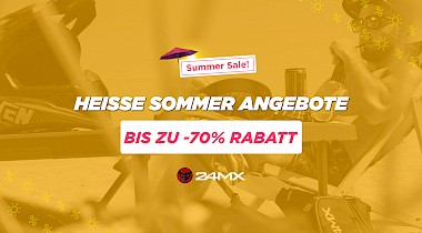 24MX startet Summer Sale!