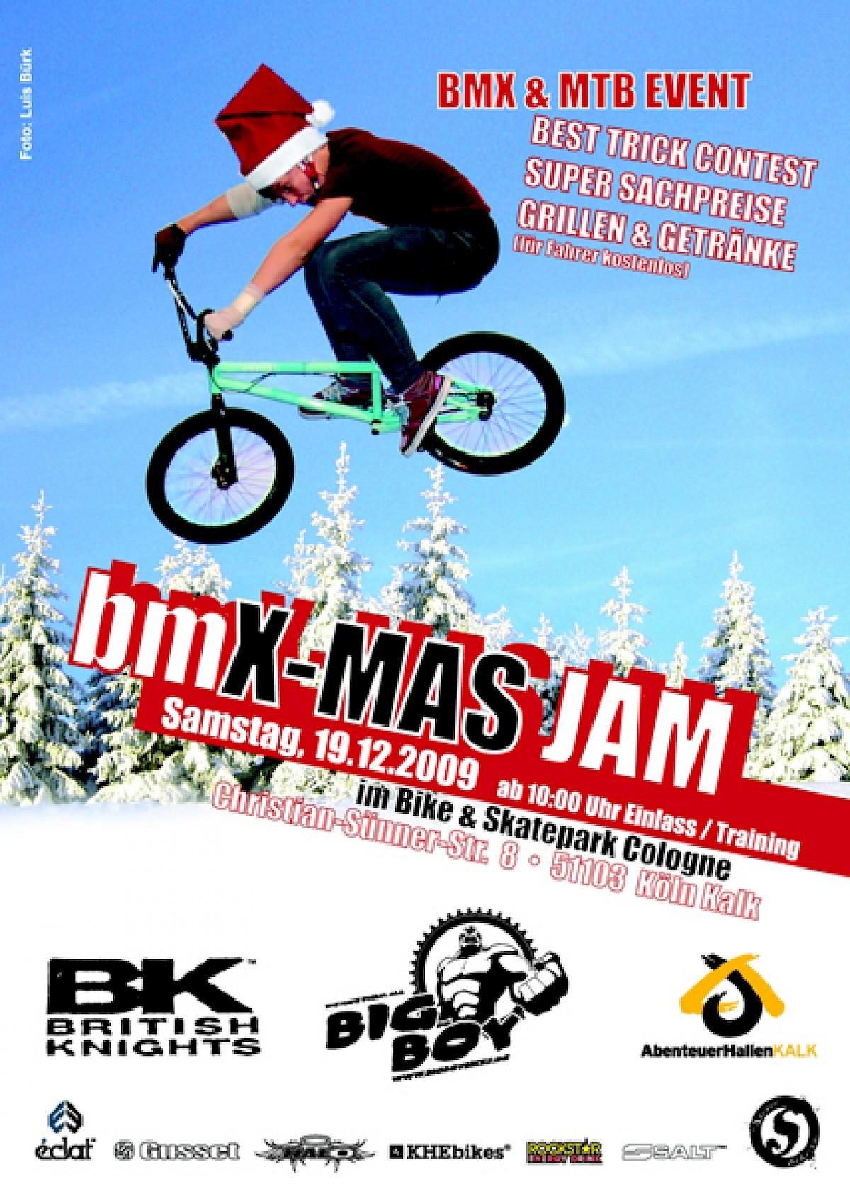 MTB Rider: MTB/BMX X-Mas Jam