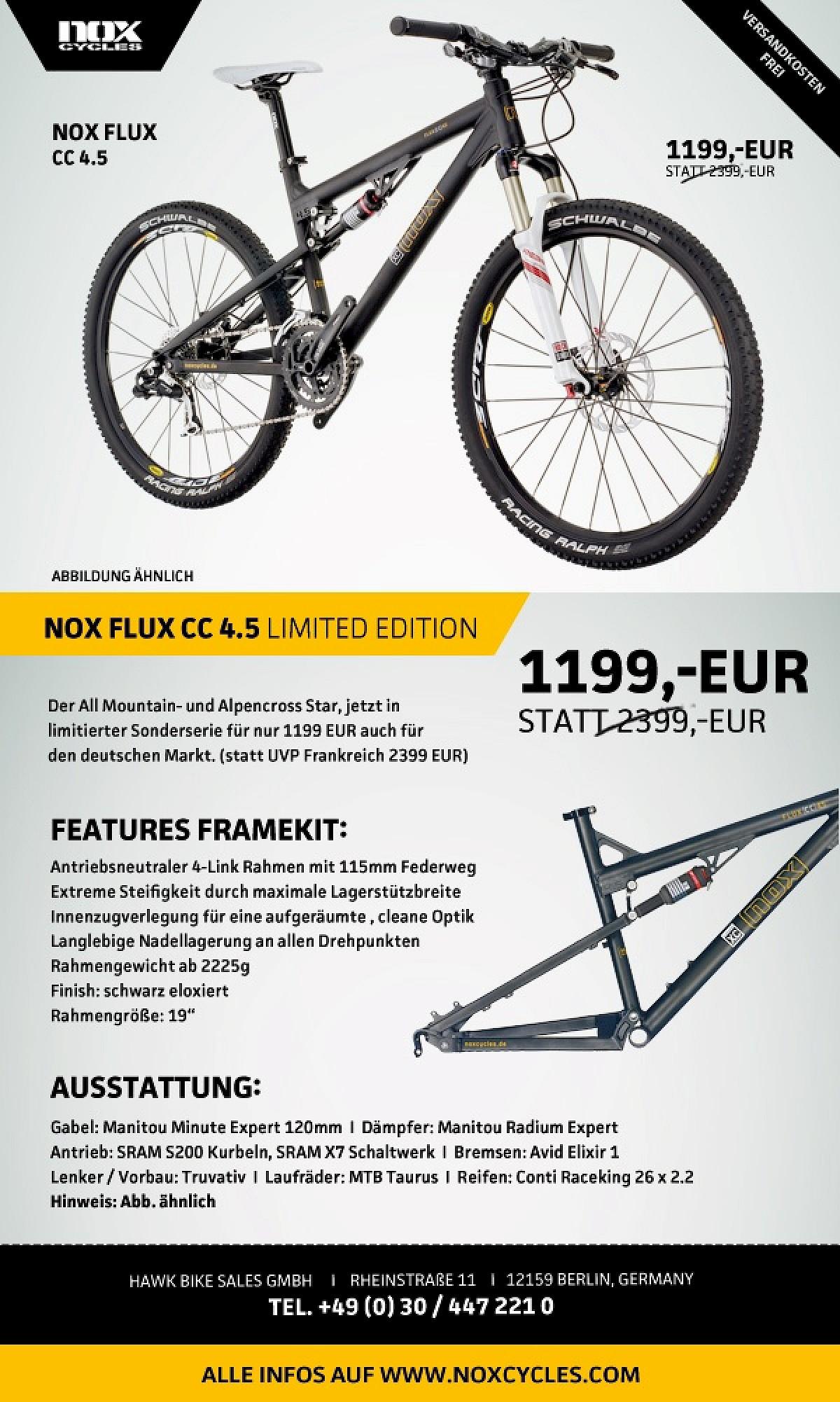 MTB Rider: NOX Flux CC 4.5